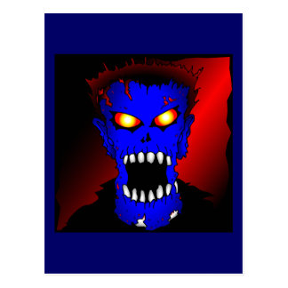 Blue Zombie Bags & Cards