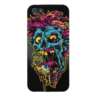 Blue Zombie Case For iPhone SE/5/5s