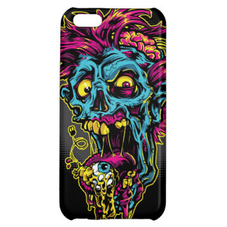 Blue Zombie Cover For iPhone 5C