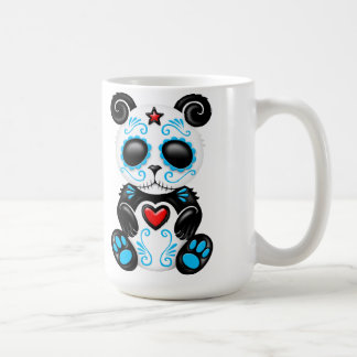 Blue Zombie Sugar Panda Coffee Mug