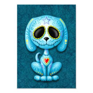 Blue Zombie Sugar Puppy Custom Announcements