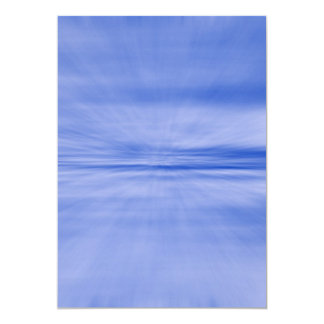 BLUE ZOOM PATTERN 1930 WARPED SPEED PHOTOGRAPHY TE CARD