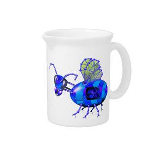 bluebees del steampunk jarras para bebida