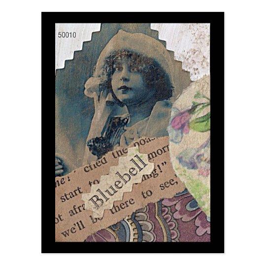 Bluebell ATC Postcard