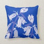 Bluebell Blossom Decor#12a Modern Throw Pillow