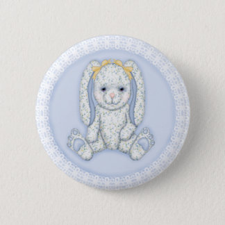 Bluebell Bunny Button