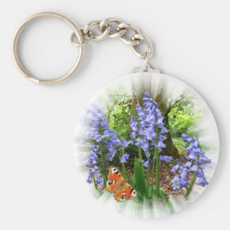 BLUEBELL BUTTERFLY Keychain