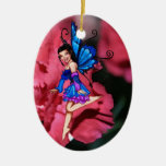 Bluebell en el ornamento rosado de las flores ornato