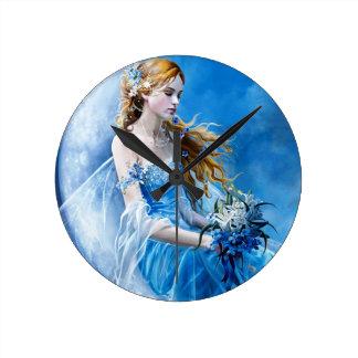 Bluebell Fairy Wallclock