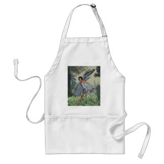Bluebell Fairy in Spring Woodland Adult Apron