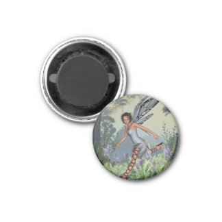 Bluebell Fairy in Spring Woodland Magnet