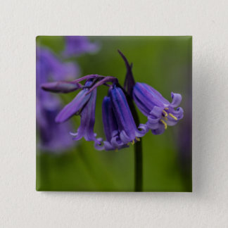 Bluebell Flower Button