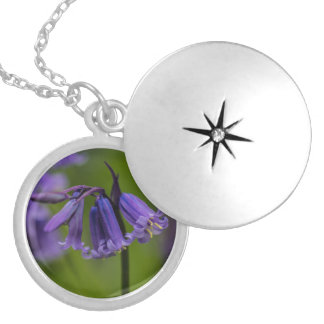 Bluebell Flower Locket Necklace