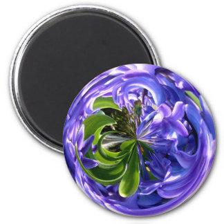 Bluebell globe magnet