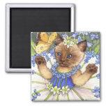 Bluebell Kitten Magnet