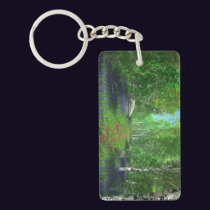 Bluebell Light Acrylic Keychain