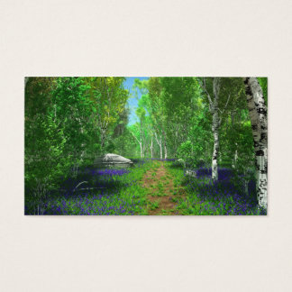 Bluebell Light Bookmarks Business Card