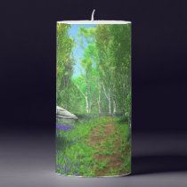 Bluebell Light Candle