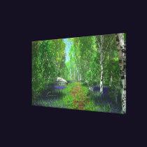Bluebell Light Canvas Print