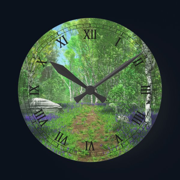 Bluebell Light Clock