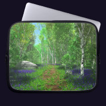 Bluebell Light Laptop Sleeve