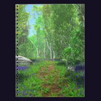 Bluebell Light Notebook