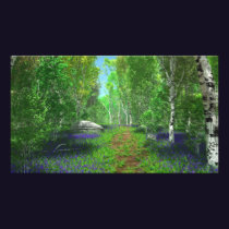 Bluebell Light Photo Print