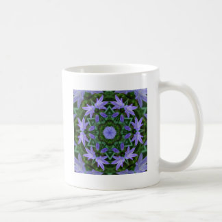 Bluebell Mandala Coffee Mug