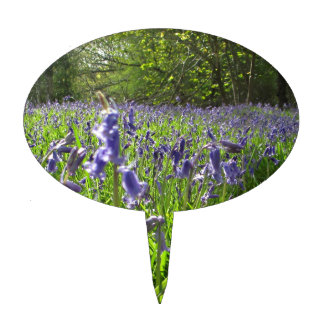Bluebell Meadow Cake Topper