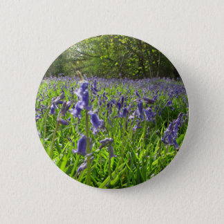 Bluebell Meadow Pinback Button