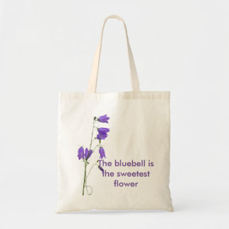 Bluebell quote tote