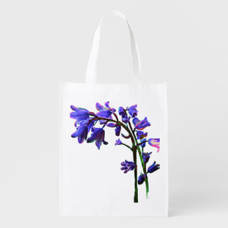 Bluebell Reusable Grocery Bag