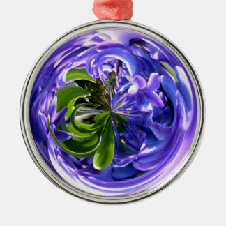 BLUEBELL WONDER Silver-Colored ROUND DECORATION