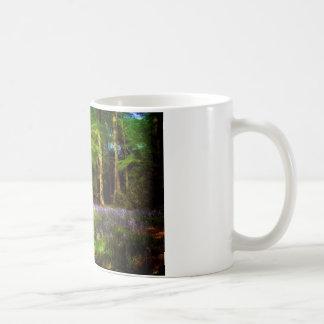 Bluebell wood coffee mug