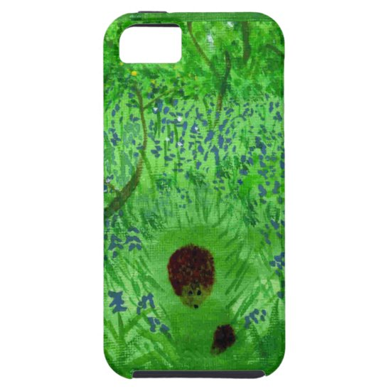 Bluebell Wood Hedgehogs iPhone SE/5/5s Case