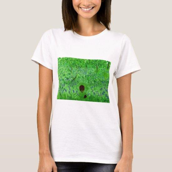 Bluebell Wood Hedgehogs T-Shirt