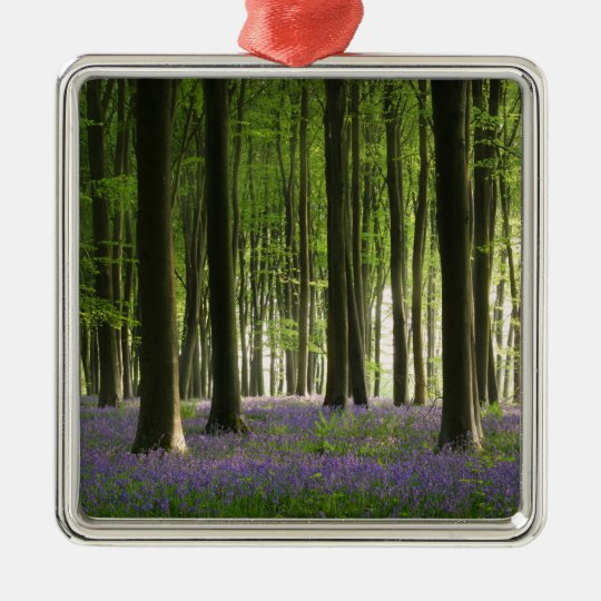 Bluebell Woodland Metal Ornament