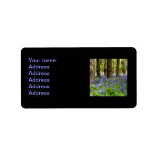 Bluebell Woods Address Label