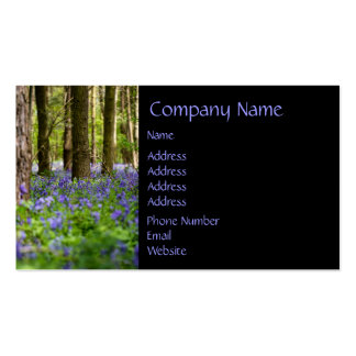 Bluebell Woods Double-Sided Standard Business Cards (Pack Of 100)