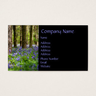 Bluebell Woods Business Card