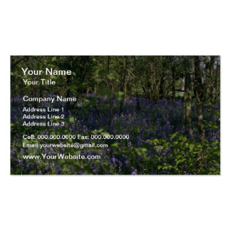 Bluebell Woods  flowers Double-Sided Standard Business Cards (Pack Of 100)