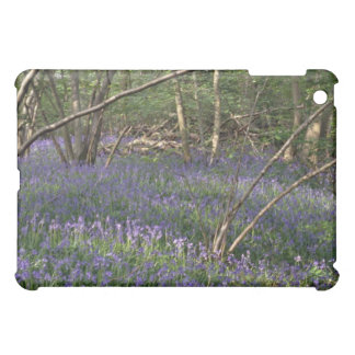 Bluebell Woods flowers iPad Mini Cover
