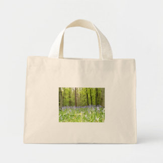 bluebell woods mini tote bag