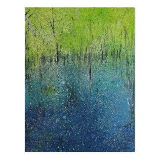Bluebell Woods Postcard