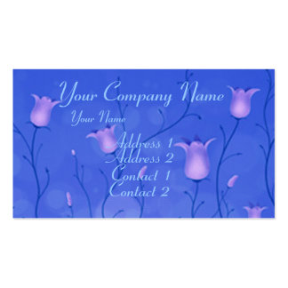 Bluebells 2 Double-Sided standard business cards (Pack of 100)