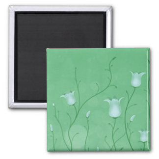 Bluebells 3 2 inch square magnet
