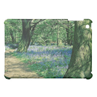 Bluebells and trees, Crackley Wood, Warwickshire Case For The iPad Mini
