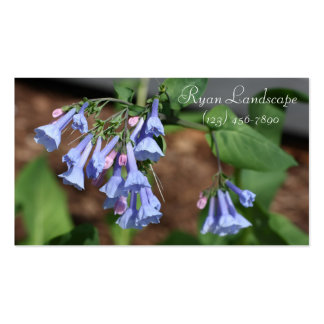 Bluebells Double-Sided Standard Business Cards (Pack Of 100)