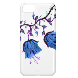 BLUEBELLS FLORAL COVER FOR iPhone 5C