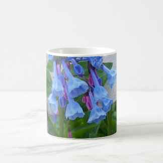 Bluebells in the garden coffee mug